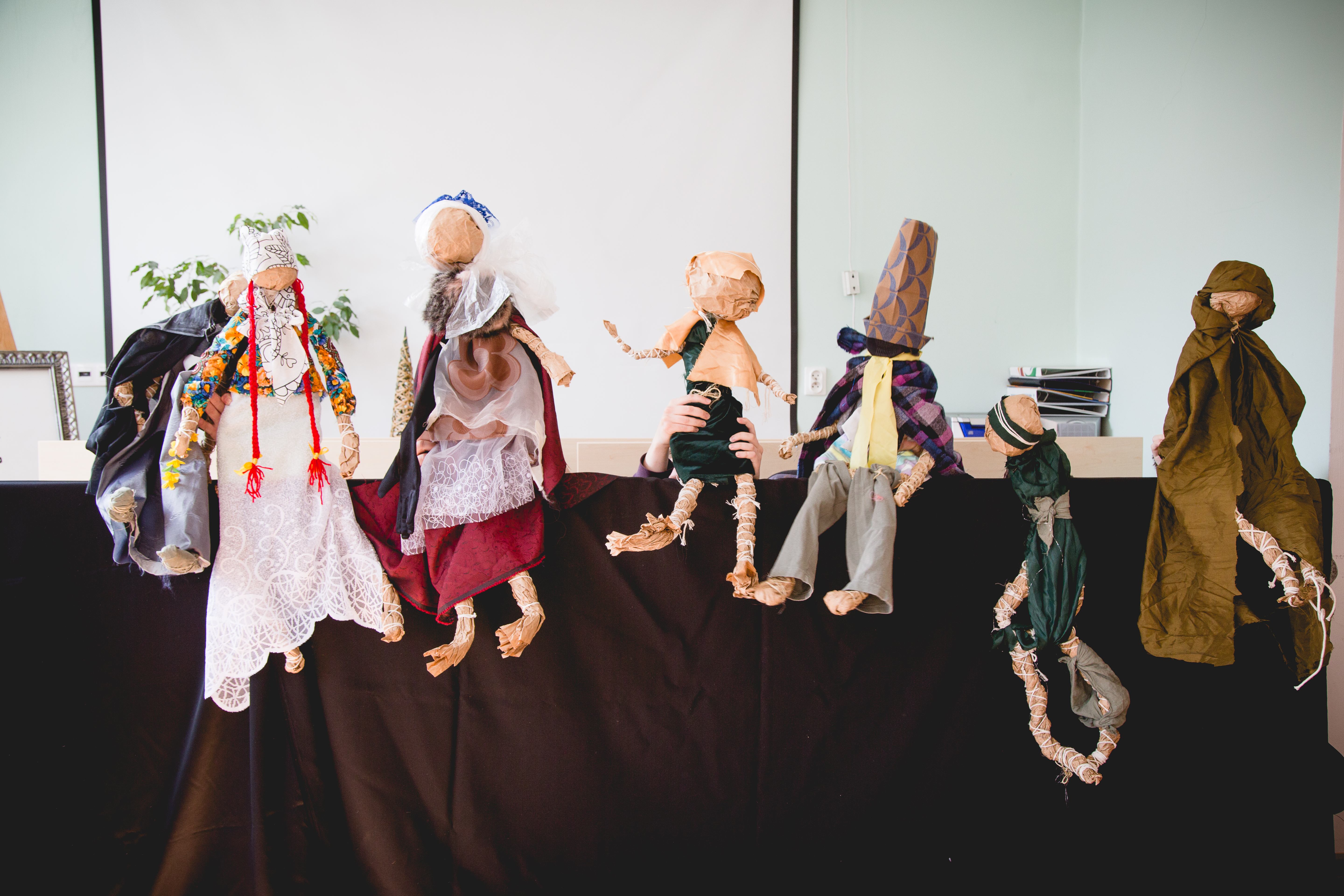 The puppets as an art-therapy